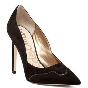 🌿Sam Edelman Black Suede Dixie Pumps Size 6.5🌿